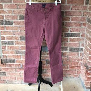 Tommy Hilfiger Mauve Jeans Sz 6 EUC